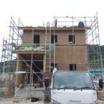 自宅の建築が始まりました。